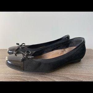Clark's Un Blush flat women's leather flats 6W